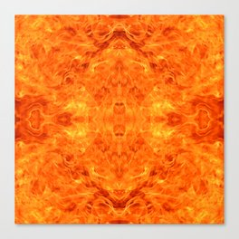 flame pattern Canvas Print