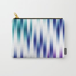 Abstract Vertical pattern Carry-All Pouch
