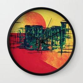 town_pt.3-4 Wall Clock