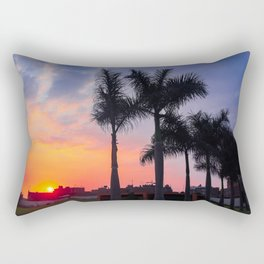 Peruvian Sunset Rectangular Pillow