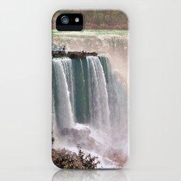 Vintage Niagara Falls - Two iPhone Case
