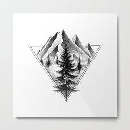 NORTHERN MOUNTAINS II Metal Print