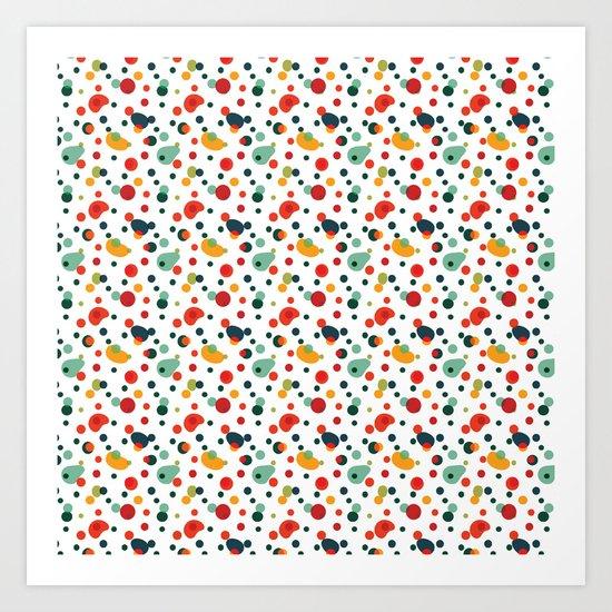 Spots Art Print