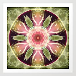 Mandalas for Times of Transition 22 Art Print