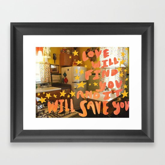 love will find you and it will save you by oozins