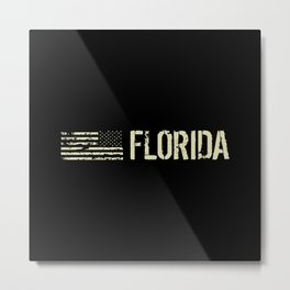 Black Flag: Florida Metal Print