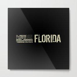 Black Flag: Florida Metal Print