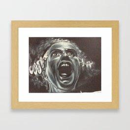 Bride of Frankenstien Framed Art Print