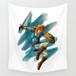 Link (The legend of Zelda Breath of the wild) Wall Tapestry