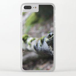 Hiking for photographs Clear iPhone Case