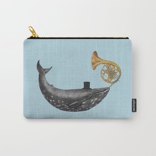 Whale Song - colour option Carry-All Pouch