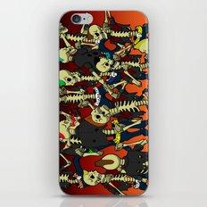 Psychobilly Brawl iPhone & iPod Skin