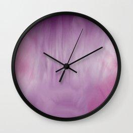 Purple Wash Wall Clock