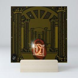 Necropolis Coin Copper at Twilight 5 Mini Art Print