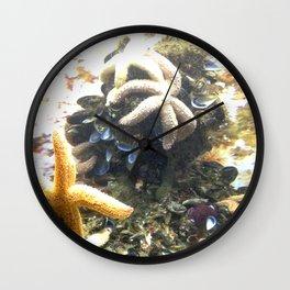 STARS IN THE OCEAN Wall Clock