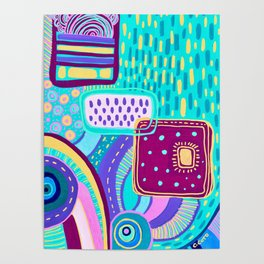 Pop Abstract Poster