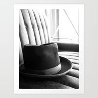 gentleman Art Prints featuring Gentleman by T & K Arts