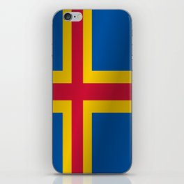Flag of Aland iPhone Skin