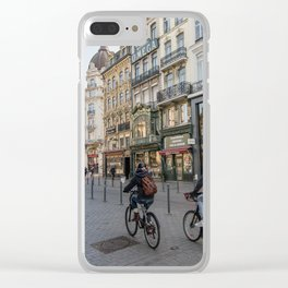 Lille Street vlille city bike Clear iPhone Case