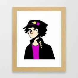 Jotaro No Kokoro No DokiDoki Framed Art Print