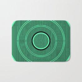 green frequency Bath Mat
