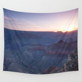 Beautiful Sunrise in the Grand Canyon Wall Tapestry