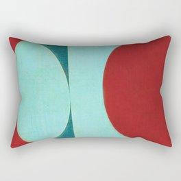 Waxing Gibbous Rectangular Pillow