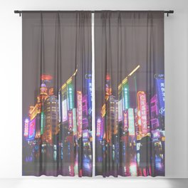 Shanghai 一 Sheer Curtain