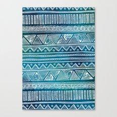 Hippie Pattern Canvas Print