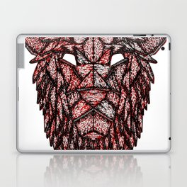 Lion Mask Laptop & iPad Skin