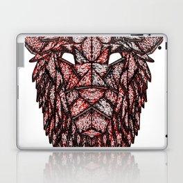 Lion Mask Laptop & iPad Skin