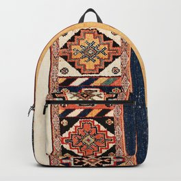 Salé  Antique Morocco North African Flatweave Rug Print Backpack
