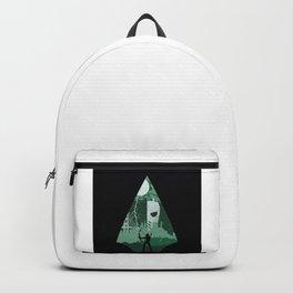 Arrow green Backpack