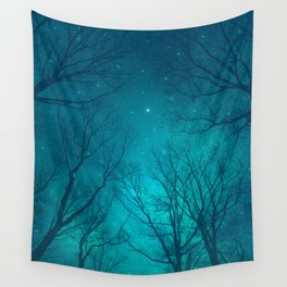 Only In the Darkness Wall Tapestry