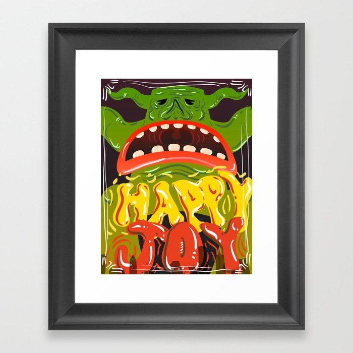 Happy Joy Framed Art Print