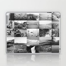 black and white world Laptop & iPad Skin