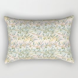 olive branches pattern Rectangular Pillow