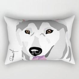 Husky Rectangular Pillow