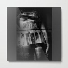 transparent state Metal Print