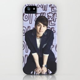 Glowing Lee Jaehwan (Ken) iPhone Case