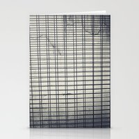 grid Stationery Cards featuring Grid by farsidian
