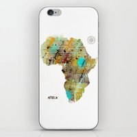 africa iPhone & iPod Skins featuring Africa by bri.buckley