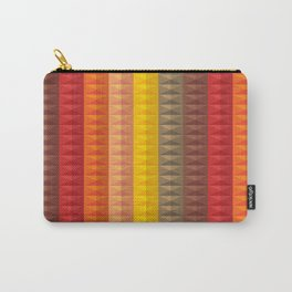 Bold Geometric Stripes Carry-All Pouch