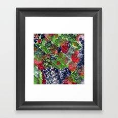 mixture of nature Framed Art Print