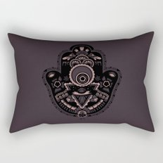 The Secret Hamsa Rectangular Pillow