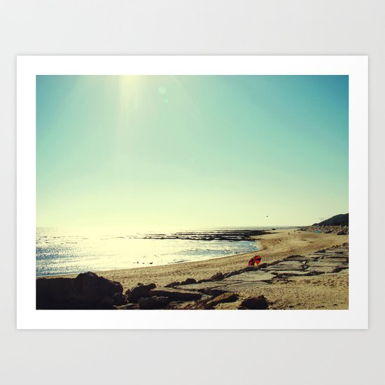 Summertime II Art Print