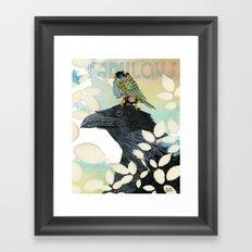 Feeling Fabulous Birds Framed Art Print