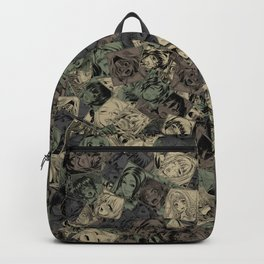 Ahegao camouflage Backpack