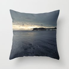 Feeling Blue Throw Pillow