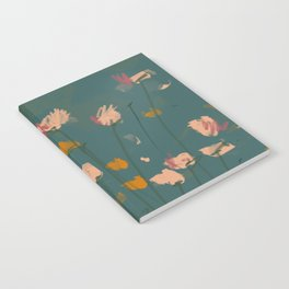 A Field Of Flowers Bloom Notebook